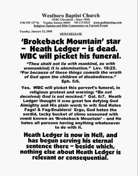 Ledger Westboro